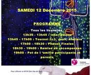 Fête de Noël le 12 décembre 2015